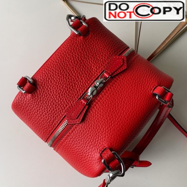 Louis Vuitton Cube Neo Square Bag Top Handle Bag M55475 Red